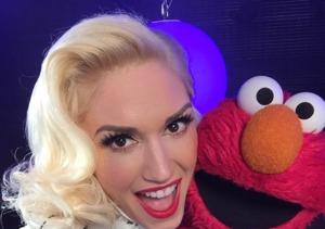Elmo Crashes Gwen Stefani's Interview!