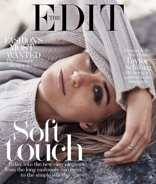 Taylor Schilling Stuns in Photo Shoot, Says She Was 'Born Rogue'