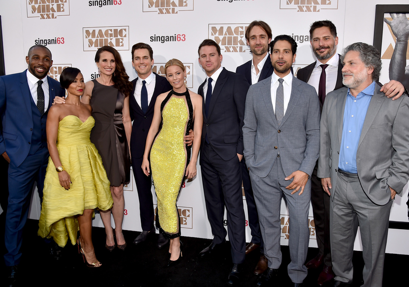 'Magic Mike XXL' Stars Channing Tatum, Joe Manganiello and More Heat up Hollywood Premiere