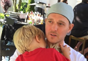 Singer Michael Bublé's Toddler Son Hospitalized