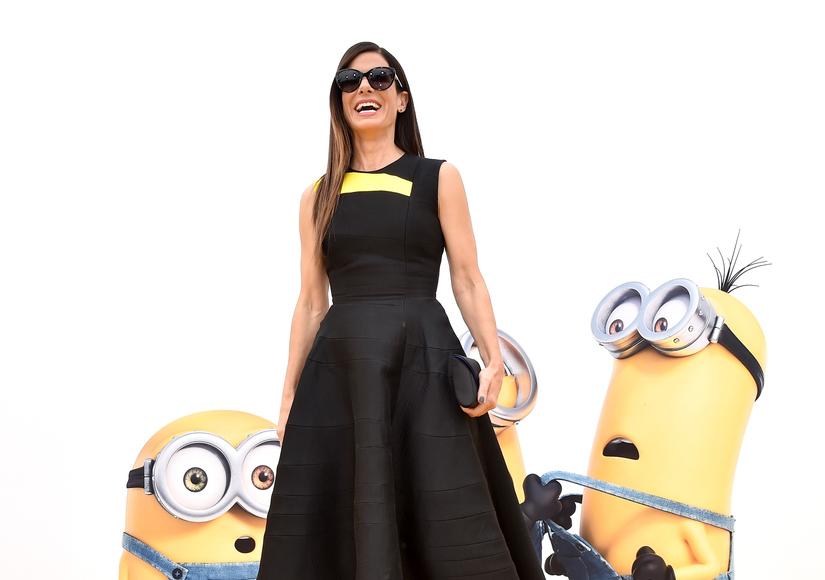 Sandra Bullock Looking Sleek at 'Minions' Premiere