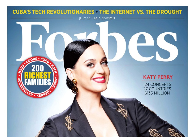 Forbes Top 100: Which Celebs Made the Top Five? Which Superstar Sank?