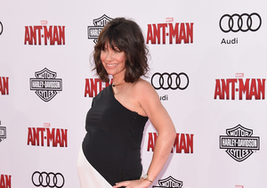 Evangeline Lilly Rocks Surprise Baby Bump at 'Ant-Man' Premiere