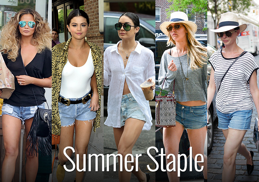 Stars Love Their Jean Shorts! Get This Celeb-Approved Look