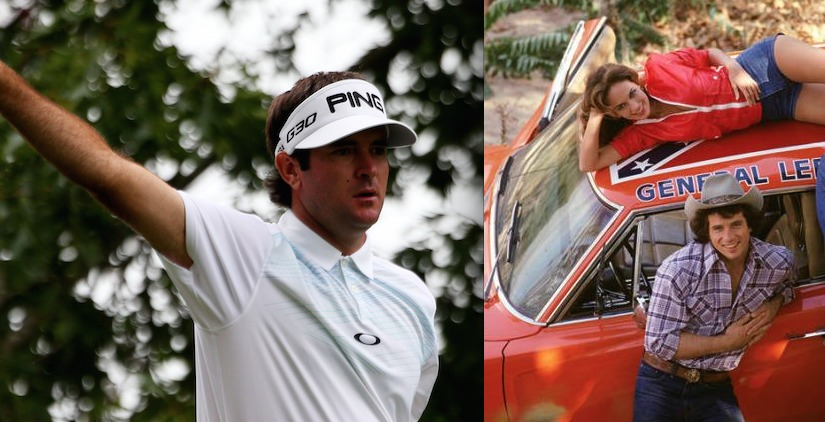 Pro Golfer Will Paint Over Confederate Flag on His 'Dukes' General Lee