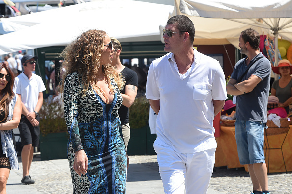 Mariah Carey Spends 4th of July with Her Billionaire Boo