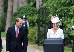 Princess Charlotte Gets Christened