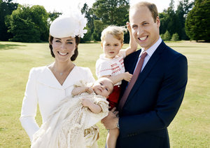 The Official Princess Charlotte Christening Pics, and How the Event Honored…