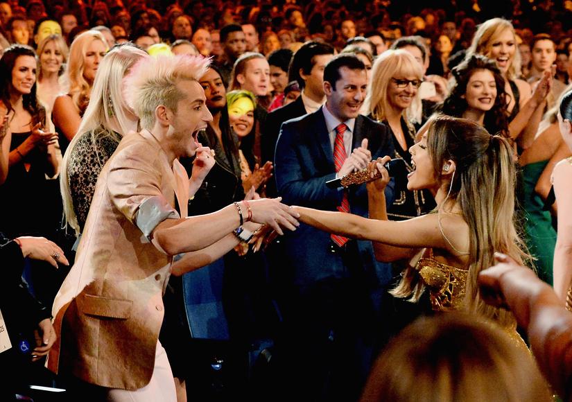Frankie Grande on Doughnutgate: 'Proud' of Ariana's Apology