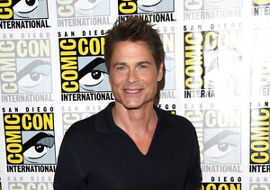 Shirtless Rob Lowe Does Epic Julie Andrews Impersonation from 'Sound of Music'!