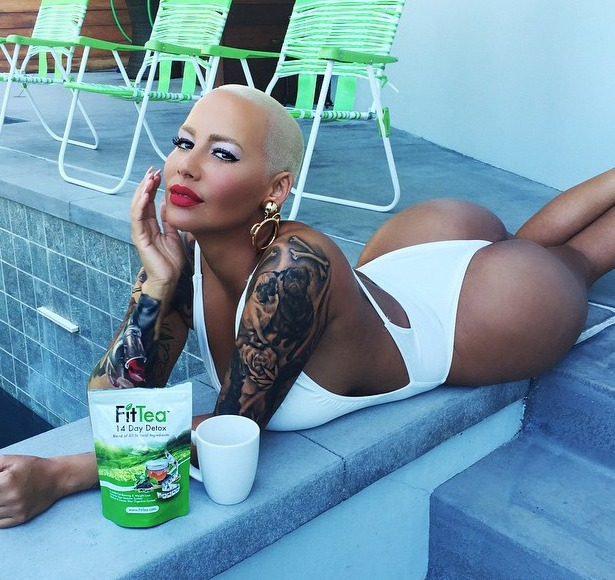 Amber Rose Blows Up Instagram in Itty-Bitty Swimsuit