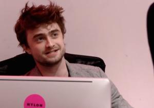 Daniel Radcliffe Desk-Duty Prank