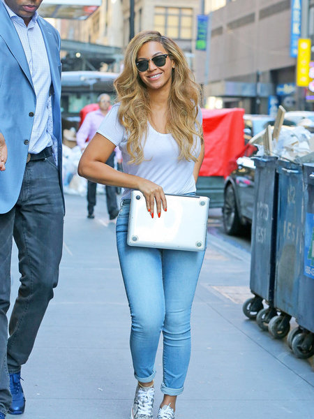 Beyoncé Does Basic… and It's Fabulous