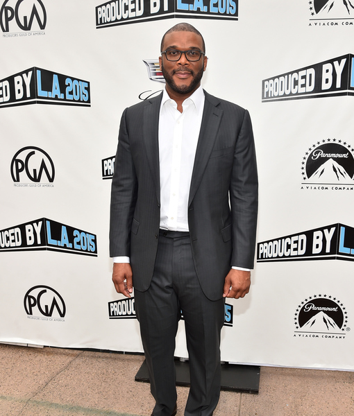 Tyler Perry Slams Media for Bobbi Kristina Coverage