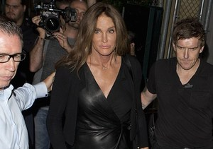 Leather-Clad Caitlyn Parties at a Gay Bar
