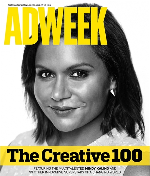 Amy Schumer and Mindy Kaling Top Adweek's Creative 100
