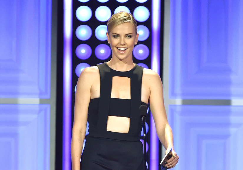 Charlize Theron Once Offered to Take President Obama to a Strip Club