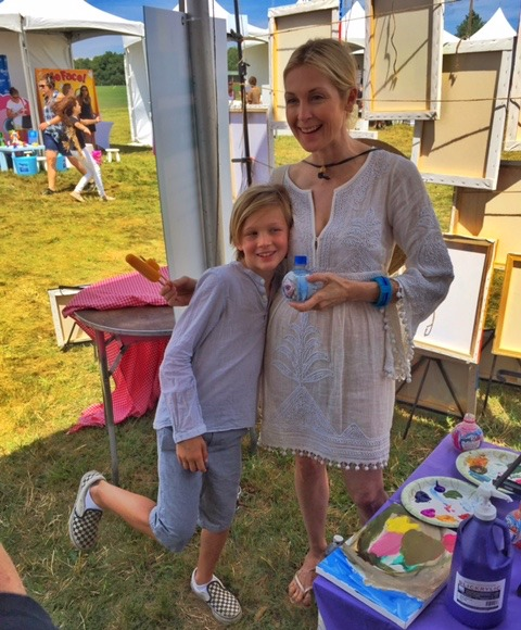 Kelly Rutherford and Her Kids Share a Serene Saturday