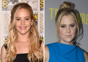 Jennifer Lawrence & Amy Schumer Are Friends?