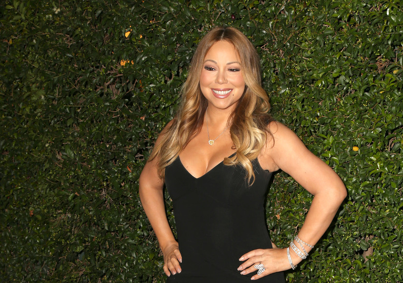 Mariah Carey Flaunts Expensive Bling from James Packer at Surprise Appearance