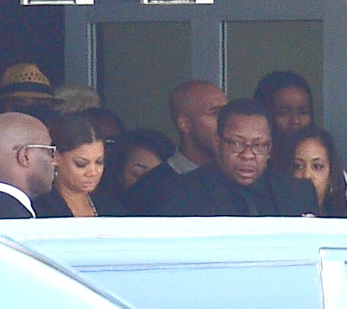 Bobby Brown's Wife Rushed to Hospital After Bobbi Kristina's Funeral