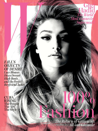 Gigi Hadid on Modeling Nude and Being a Post-It Girl