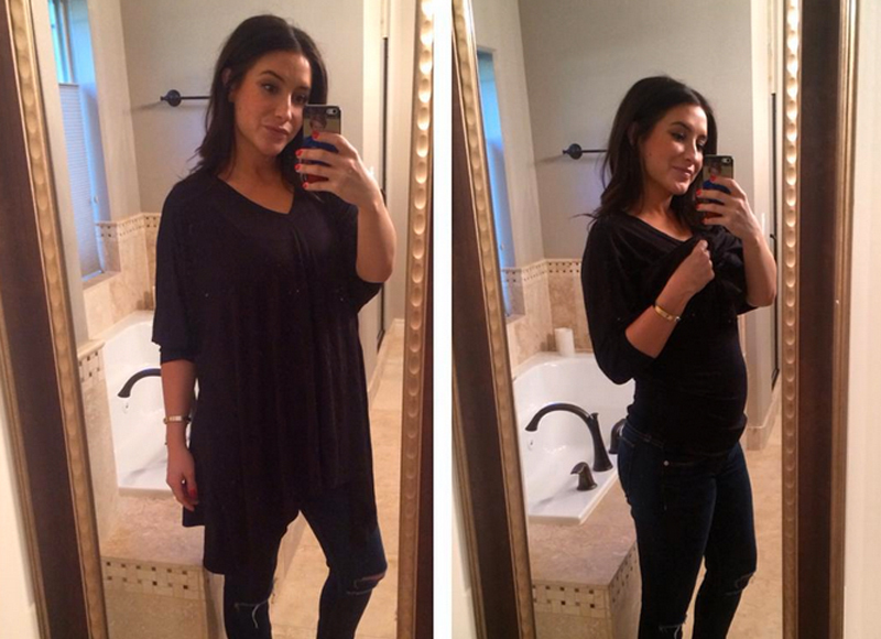 Bristol Palin Shows Off Baby Bump