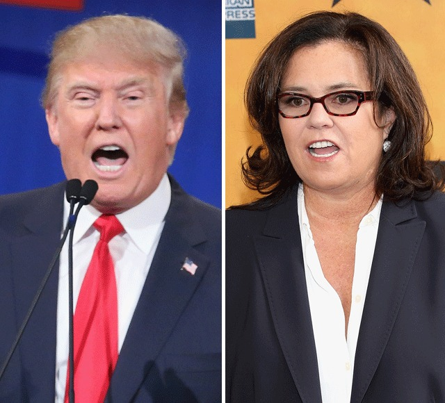 Donald Trump Disses Rosie O'Donnell in GOP Debate — See Her Response!