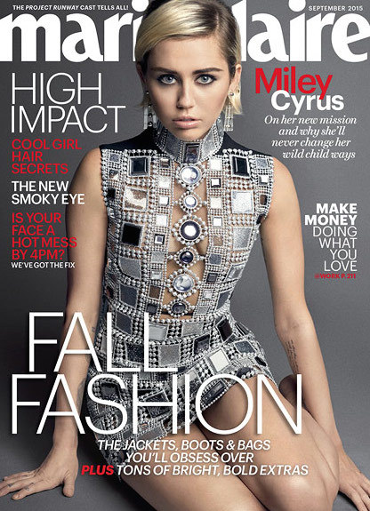 Miley Comes for Taylor Swift: 'I Don't Get the Violence Revenge Thing'