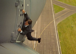 Video! Tom Cruise and the Most Incredible 'Mission: Impossible' Stunt Ever
