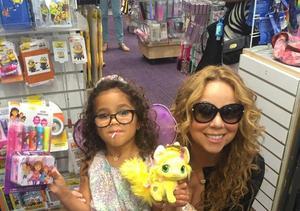 Mariah Carey's Daughter Monroe Gets Her Ears Pierced