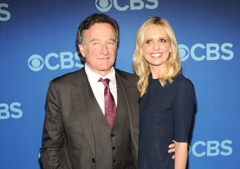 Sarah Michelle Gellar Pays Tribute to Robin Williams on 1-Year Anniversary of His Death