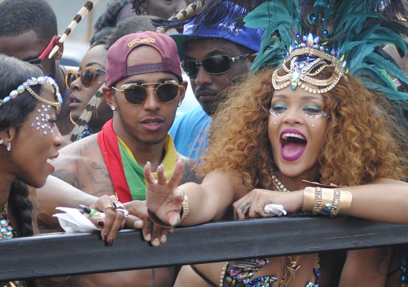 Are Rihanna & Lewis Hamilton Dating?
