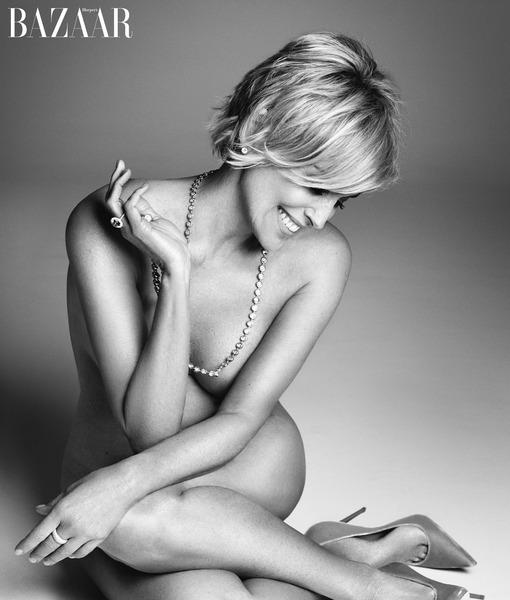 Sharon Stone Goes Naked at 57