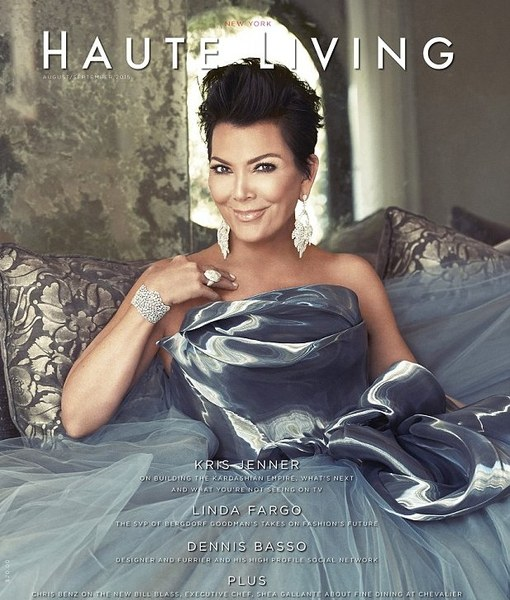 Kris Jenner Stuns on Haute Living, Hopes Caitlyn 'Finds Her Joy'