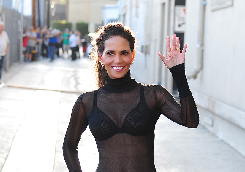 Watch! Halle Berry Takes on Mean Tweeter Who Called Her Boobs 'Lopsided'