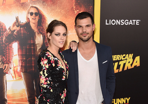 Kristen Stewart & Taylor Lautner Have Sweet 'Twilight' Reunion