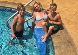 Britney the Mermaid?