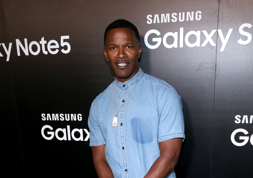 Jamie Foxx Reportedly Saves Man from Burning Car