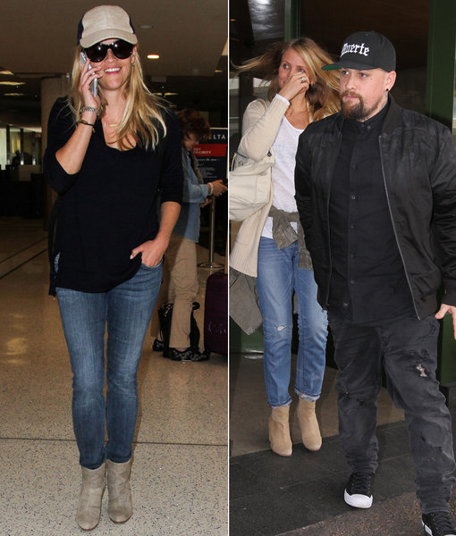 Reese & Cameron Are Ready for Fall in Suede Booties! Steal Their Style