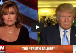 Sarah Palin Goes One-on-One with Donald Trump