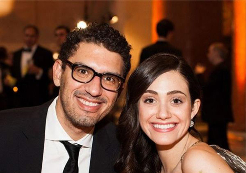 Emmy Rossum Is Engaged to 'Mr. Robot' Creator Sam Esmail