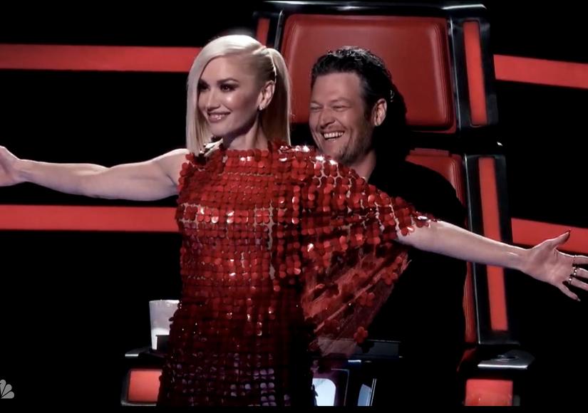 Gwen Stefani & Blake Shelton Go Live on 'The Voice' After Dating News