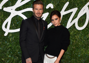 Victoria and David Beckham Show Off 'New Baby'