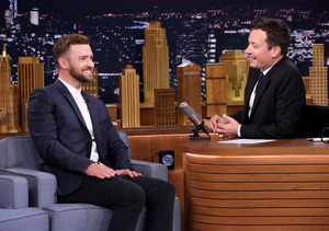 Justin Timberlake Shows Off Cute New Photos of Son Silas on 'Tonight Show'