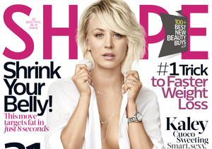 Kaley Cuoco Strips Down in Shape Mag, Reveals Perfect Workout Routine