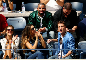 Drake and Serena Williams Left U.S. Open Together