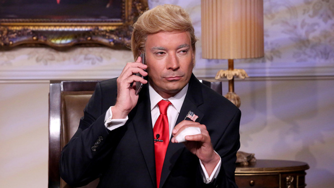 Fallon Gets a Trump Bump in the Ratings