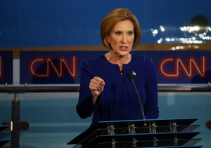 Carly Fiorina Trumps the Competition at GOP Debate
