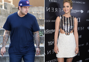 Wait, What? Did Kris Jenner Fix Up Rob Kardashian with Jennifer Lawrence?